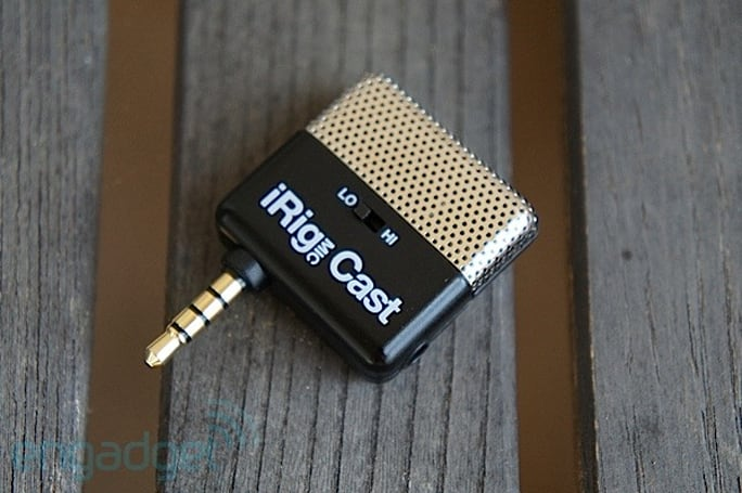 IK Multimedia's iRig MIC Cast is now shipping for iOS devices, we go hands-on