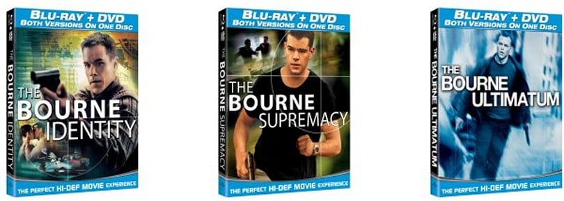 Bourne DVD / Blu-ray combo boxes are incredibly descriptive