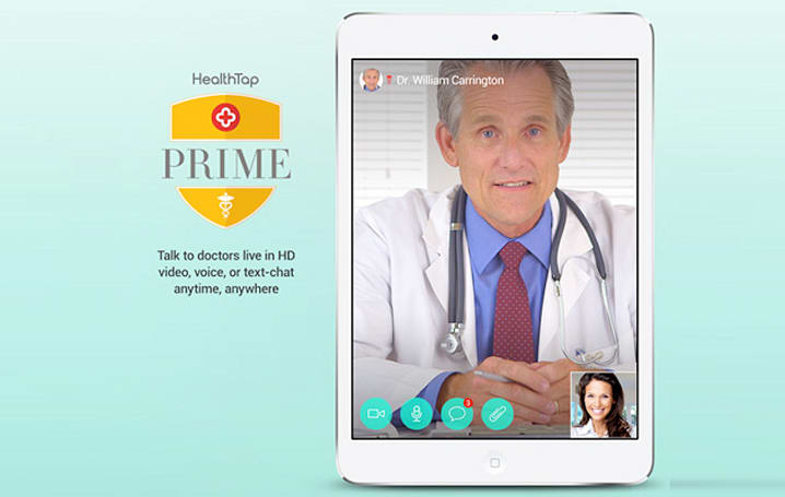 HealthTap Prime lets you video call a Doctor whatever the hour