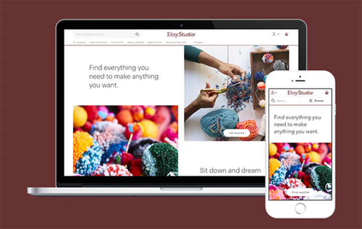 Etsy wants to be your online source for craft supplies