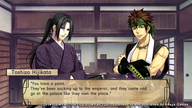 Sexy warrior dating sim Hakuoki: Stories of the Shinsengumi coming to North America