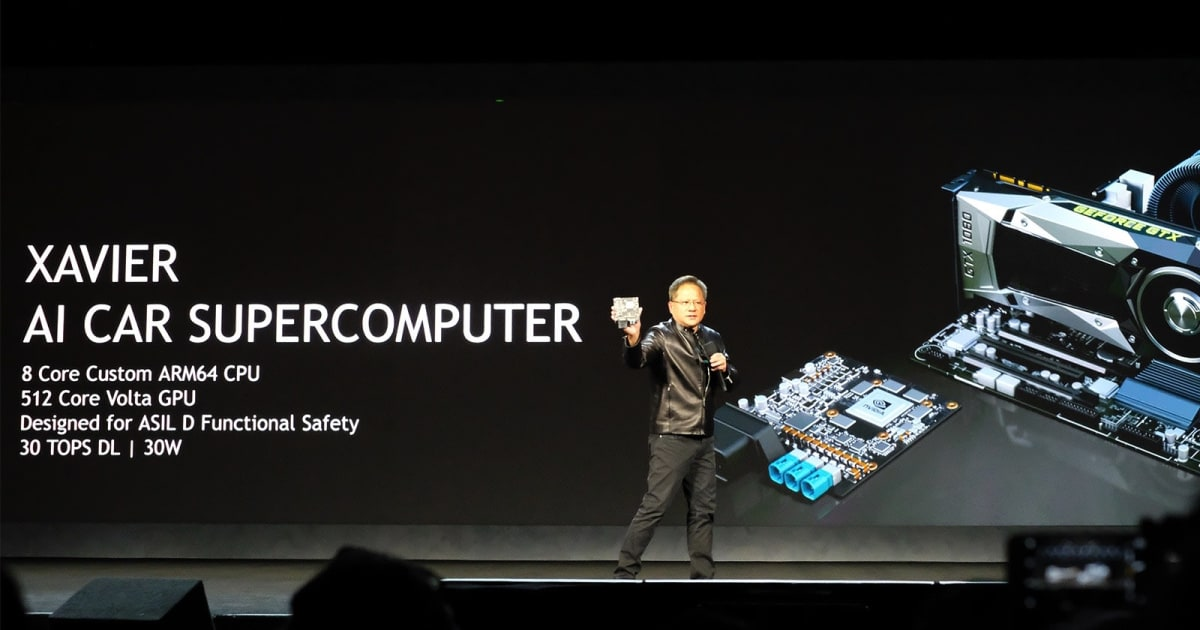 NVIDIA made a self-driving car with its Xavier supercomputer