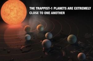 NASA findet gleich 7 erdähnliche Planeten nur 40 Lichtjahre entfernt