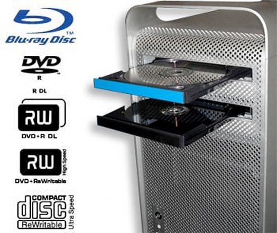 MCE's 8x internal Blu-ray burner for Mac Pros now shipping, great for anything but playing Blu-ray movies