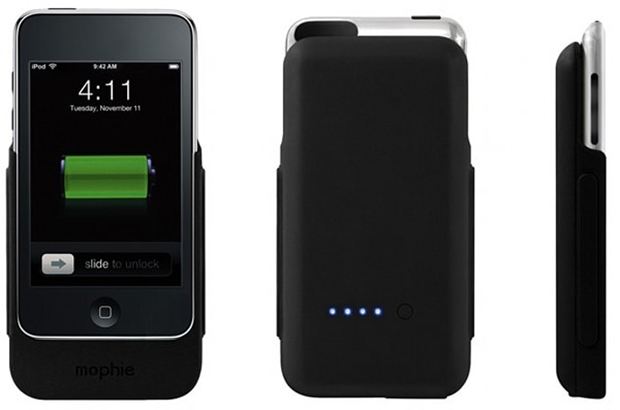 mophie launches $99.95 Juice Pack for iPod touch 2G