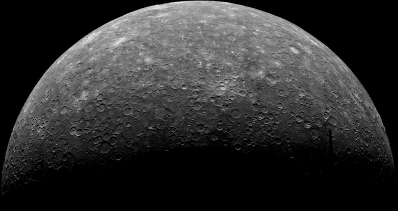 Mercury is the first planet after Earth with tectonic activity