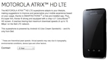 Motorola's Atrix HD LTE hits Bell Canada for $50 on a three-year contract