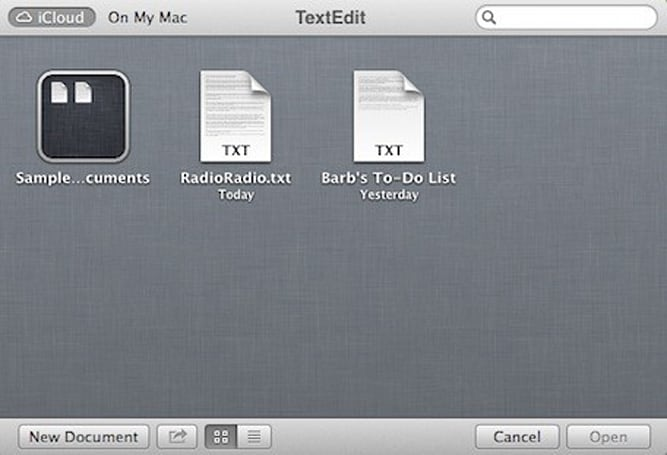 Mountain Lion 101: The iCloud Document Library