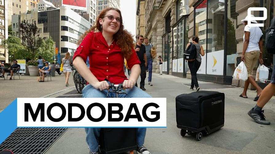 MODOBAG Motorized Luggage Hands-On