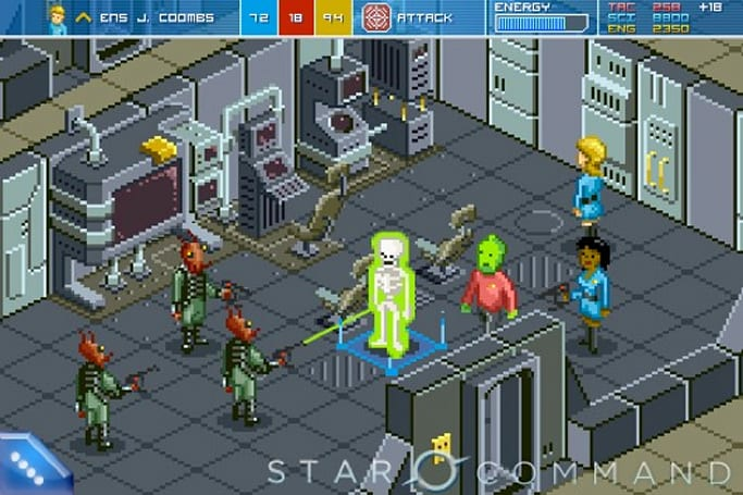 Star Command sends out Kickstarter call for epic sci-fi SFX, Android port