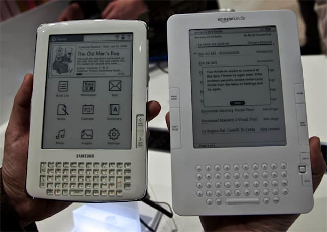 Samsung E61 e-book reader outed, brings physical QWERTY keyboard to lineup