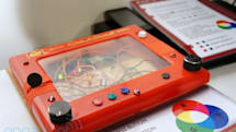 Etch-a-Sketch 3.0 hands-on (video)