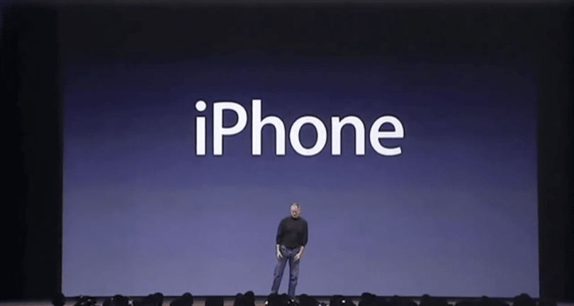 First iPhone keynote was eight years ago today