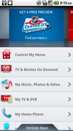 Verizon's My FiOS app puts your entire living room under one Android roof