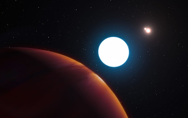 Researchers discover new exoplanet orbiting triple suns