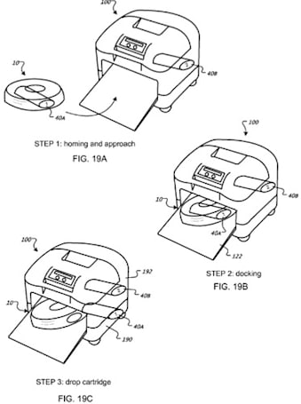 Patent app shows Roombas pooping on potties, being big boys