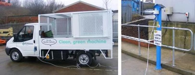 Garbage-powered garbage truck now making its way across merry England