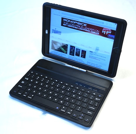 New Trent Airbender Pro: The Swiss Army Knife of iPad Air keyboard cases