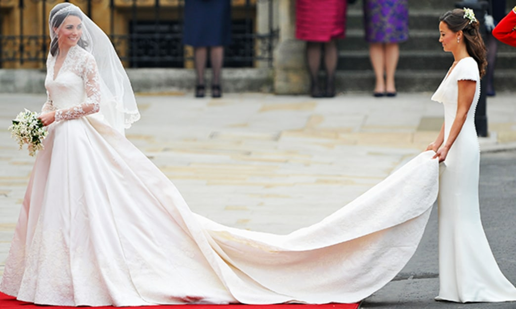 Pippa Middleton admits her Royal Wedding bridesmaid dress may have fit 'too well'