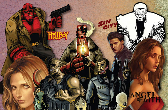 'Sin City' and 'Hellboy' comics come to Hoopla's public library app