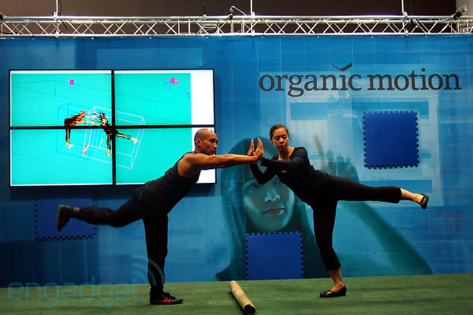 Organic Motion's OpenStage motion capture system grabs 200FPS, no backdrop required (video)
