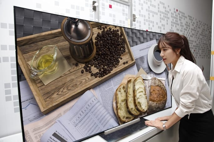 LG hopes OLED TVs are ready for a 'breakout year' with Ultra HD