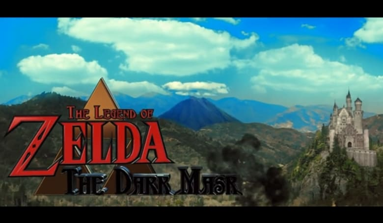 Link puts on his battle face in Legend of Zelda: The Dark Mask fan film