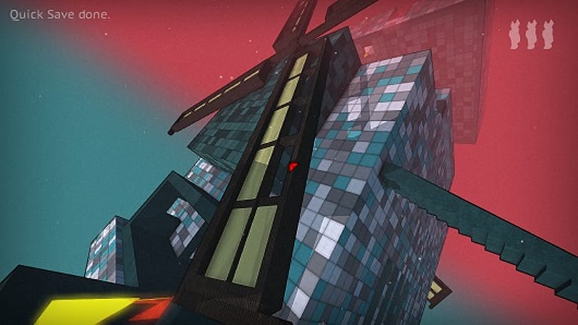 Puzzling first-person platformer Tri-ing to gather Greenlight votes