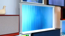 Samsung's Serif TV is designed to blend in with your furniture
