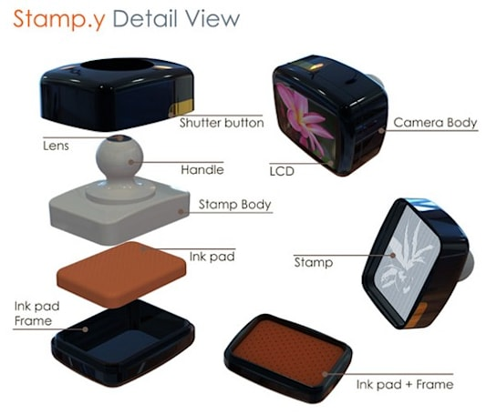 Stamp.y Digital Camera concept doesn't look particularly pocket-friendly