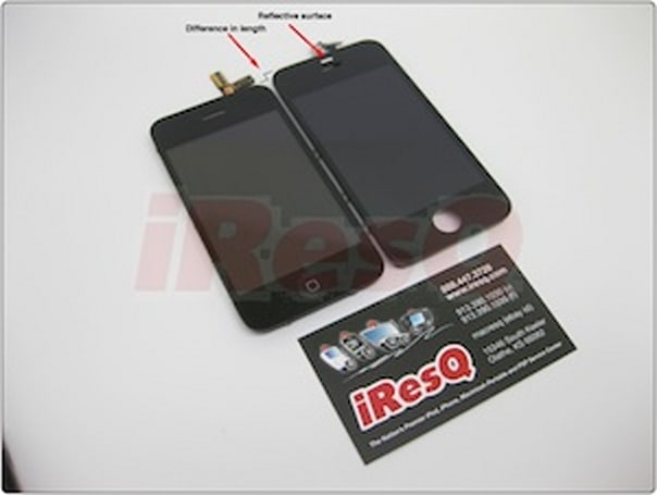 Purported pics of next-gen iPhone front face surface