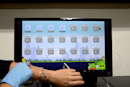 Researchers are developing a soft, stretchy touch screen panel