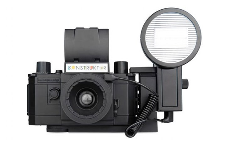 Lomography's DIY 35mm camera, now with flash