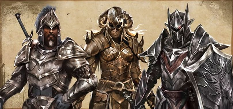 The Elder Scrolls Online taunts us with heavy armor designs