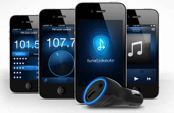 new potato reveals tunelink auto bluetooth to fm. Black Bedroom Furniture Sets. Home Design Ideas