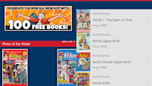 Archie Comics app offers 100 free issues of classic fun