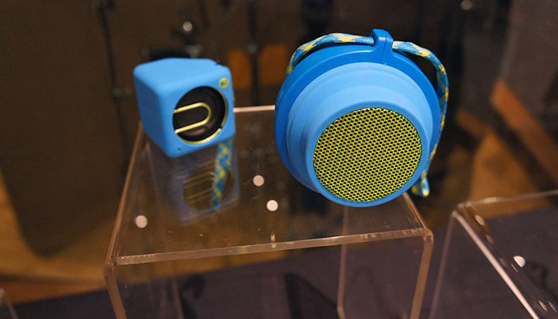 New portable speakers from Philips add some physical pop to your music