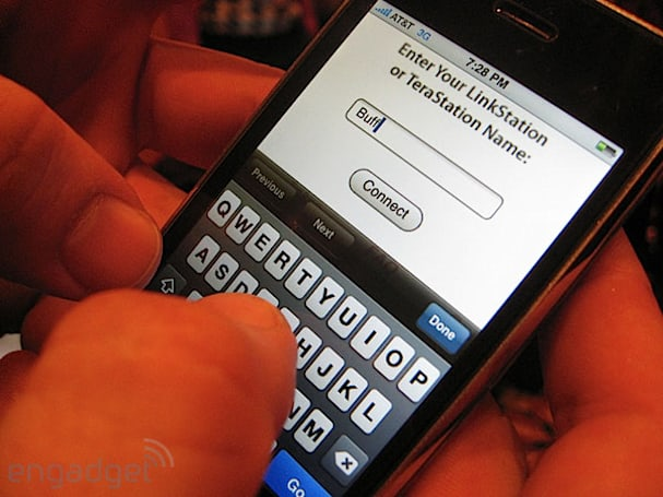 Buffalo's Web Access hands-on: remote access from your iPhone