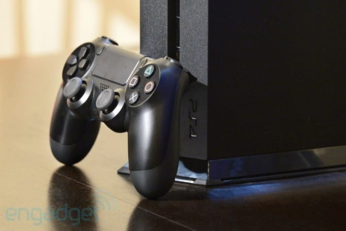 This is Sony's PlayStation 4 before the Day One patch