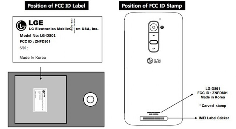 LG G2 reaches the FCC with North American LTE