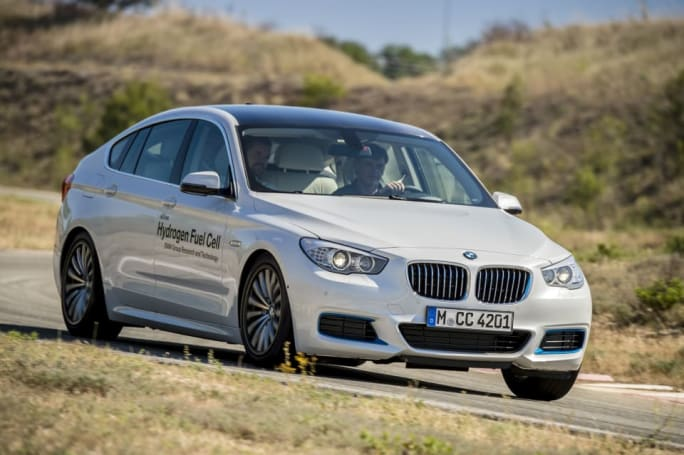 BMW has a hydrogen-powered 5 Series