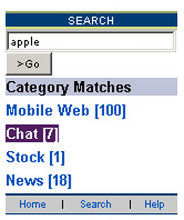 Alltel unveils carrier-branded search agent, dedicated button