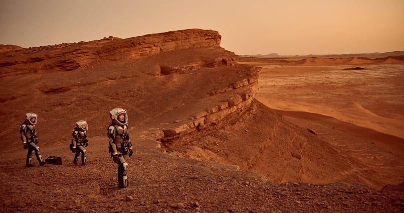 National Geographic's 'Mars' is like a SpaceX infomercial
