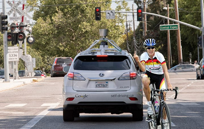 Google's self-driving cars can now understand cyclists' gestures