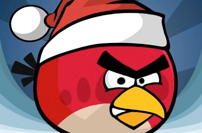 Angry Birds Christmas in December, global flash mobs planned