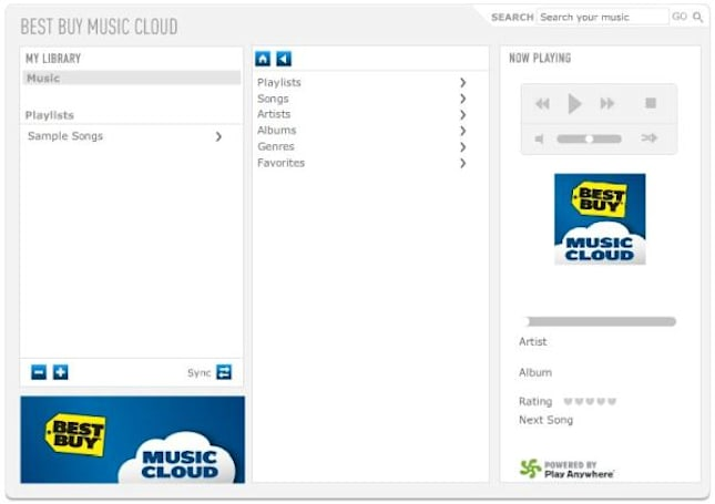 Best Buy puts your music in the cloud, goes where others have gone before (updated)