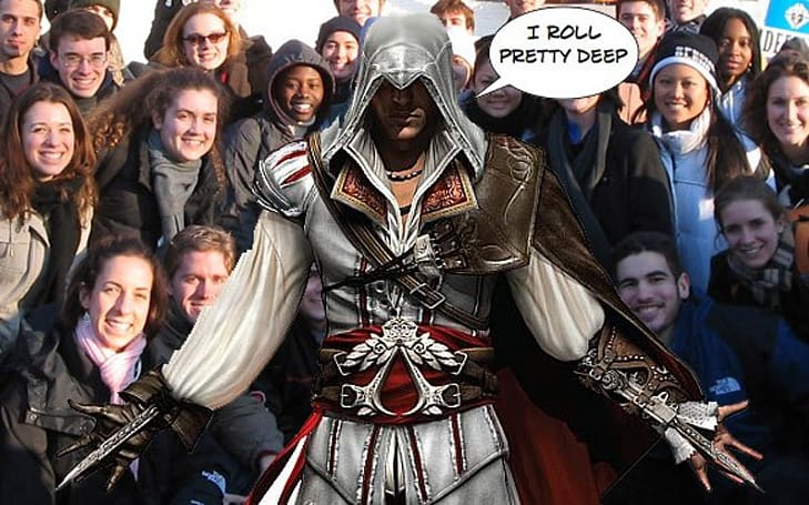 How many people are working on Assassin's Creed 2? A lot.