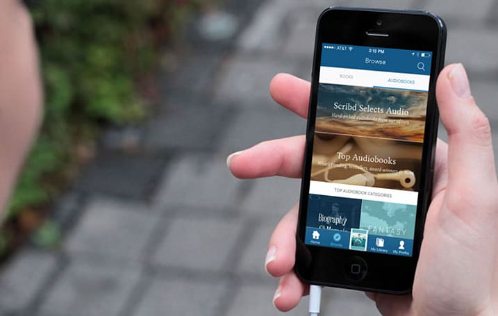 Scribd adds 30,000 audiobooks to its subscription service