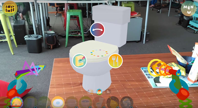 Project Tango game 'Woorld' is here to make your life silly
