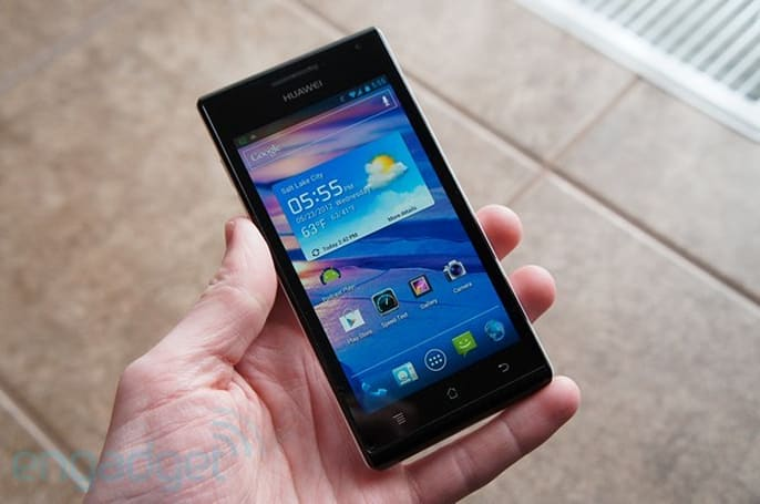 How would you change the Huawei Ascend P1?